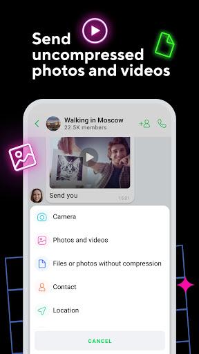 ICQ New Messenger App: Video Calls & Chat Rooms 9.21(824744) screenshots 5