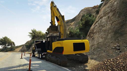 Dozer and Truck Games: Excavator Simulator  screenshots 4