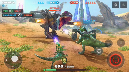 Dino Squad: TPS Dinosaur Shooter  screenshots 3