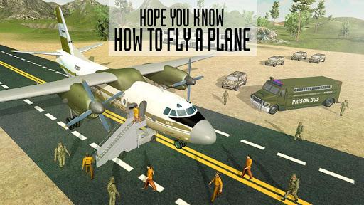 Army Criminals Transport Plane  screenshots 7