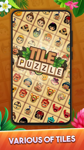 Tile Puzzle: Pair Match and Connect Game 2021  apktcs 1