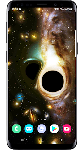 Black Hole Simulation 3D Live Wallpaper Apk Download 2021 4