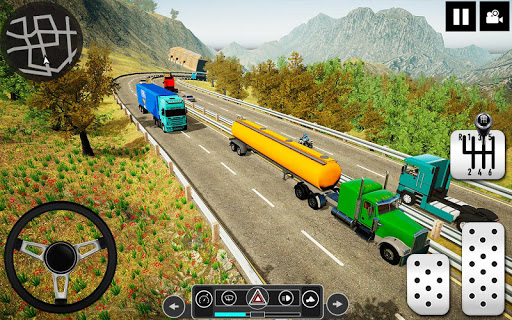 Oil Tanker Truck Driver 3D - Free Truck Games 2020 android2mod screenshots 4