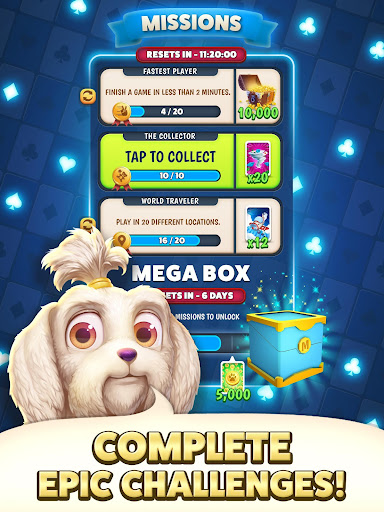 Solitaire Pets Adventure - Free Solitaire Fun Game  screenshots 13