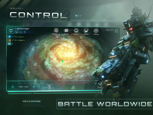Nova Empire: Space Commander Battles in Galaxy War  Screenshots 3