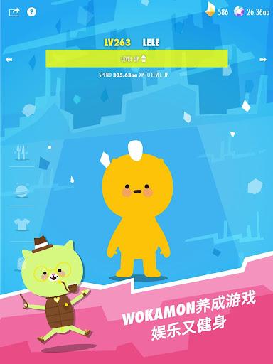 Wokamon -  Walking Games, Fitness Game, GPS Games screenshots 7