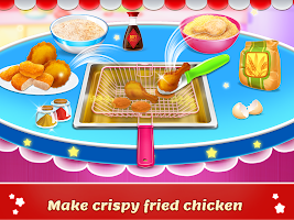 Fried Chicken Chef: Fast Food Maker