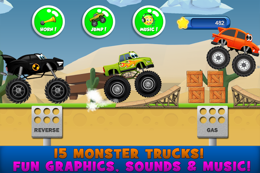 Monster Trucks Game for Kids 2 2.7.3 screenshots 2