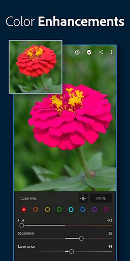 Adobe Lightroom - Photo Editor & Pro Camera screen 2