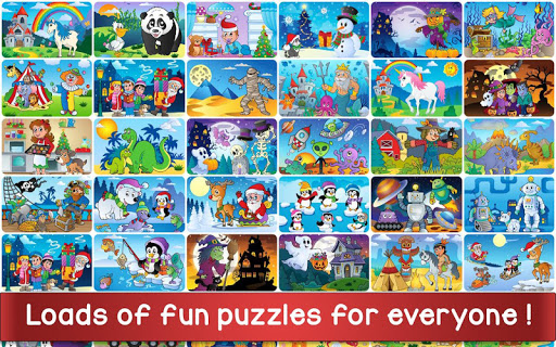 Christmas Puzzle Games - Kids Jigsaw Puzzles ud83cudf85 screenshots 5