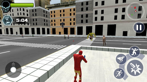 Super Iron Rope Hero - Vegas Fighting Crime 5.0.4 screenshots 4