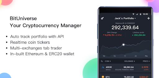 BitUniverse - Crypto Portfolio & Grid Trading Bot apk
