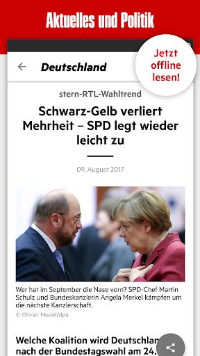 stern - Aktuelle Nachrichten  screenshots 1