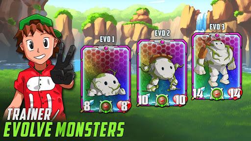 Monster Battles: TCG - Card Duel Game. Free CCG screenshots 3