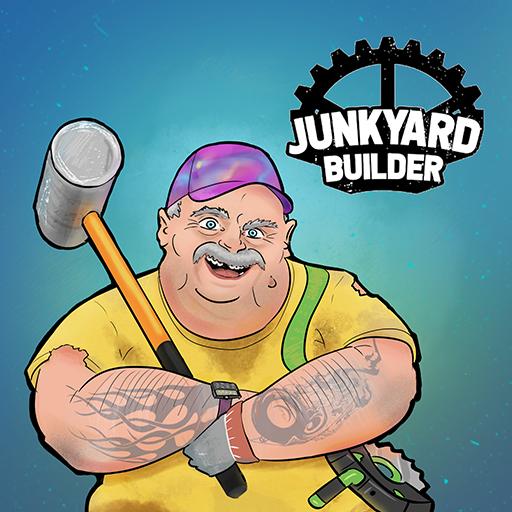 Junkyard builder simulator logo