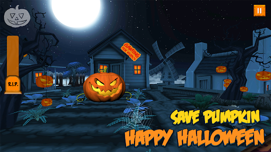 Ghosts & Witches Hunting to Save Halloween Pumpkin Hack Online [Android & iOS] 1