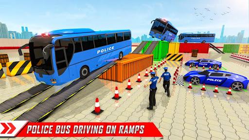 Police Bus Parking Game 3D - Police Bus Games 2019  screenshots 8
