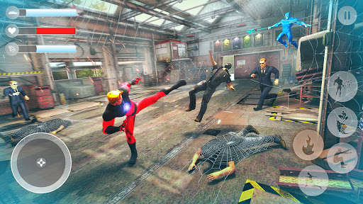 Rope Superhero War : Superhero Games : Rescue Hero 1.0 Screenshots 5