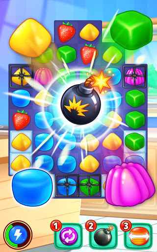 Gummy Paradise - Free Match 3 Puzzle Game 1.5.4 screenshots 2