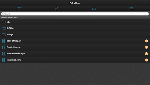 VLC Streamer Free 2.47 (3533) Screenshots 7