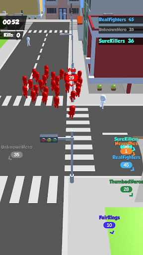 Crowd Race 3D : Biggest in the city! 1.3.0 screenshots 3