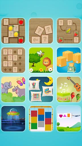 Preschool game for toddlers - Memory skills  screenshots 1