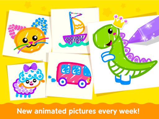 Bini Toddler Drawing Apps! Coloring Games for Kids apktram screenshots 15