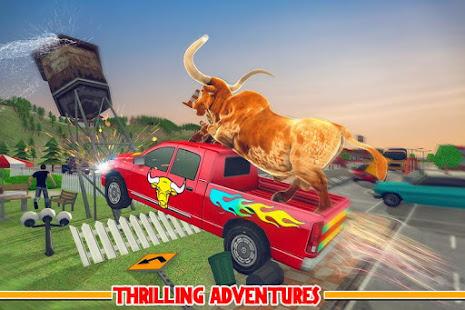 angry bull city attack: wild bull simulator games hack