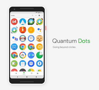 Quantum Dots - Icon Pack Screenshot