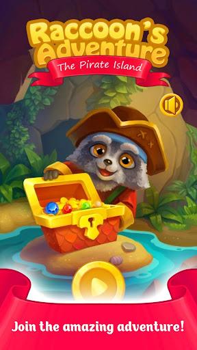 Raccoon's Adventure: The Pirate Island - Match 3 https screenshots 1