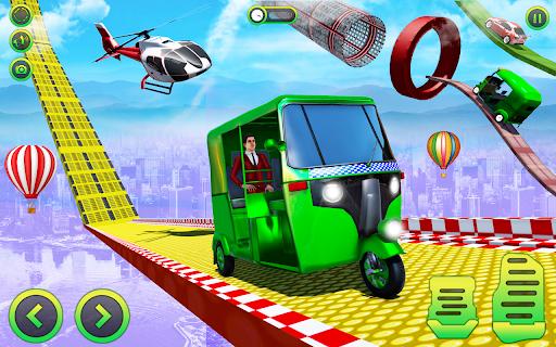 Modern auto tuk tuk Real rickshaw game 2021 screenshots 2
