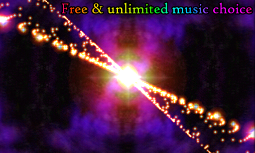3D Stars Journey - Universe Music Visualizer Apkfinish screenshots 1