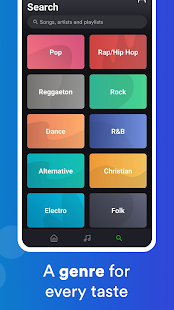 eSound: Free Music Player for MP3 music streaming Screenshot