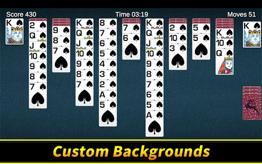 Spider Solitaire apkpoly screenshots 8