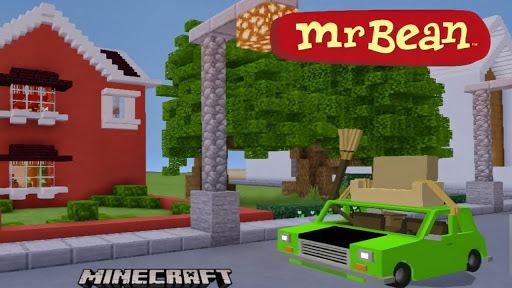 Mod Mr Bean for Minecraft PE Addon 1.0.0 Screenshots 4