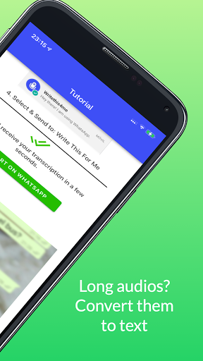 Audio to Text for WhatsApp Transcriber Translator screenshots 2