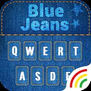 Blue Jeans Keyboard Theme - Emoji & Gif