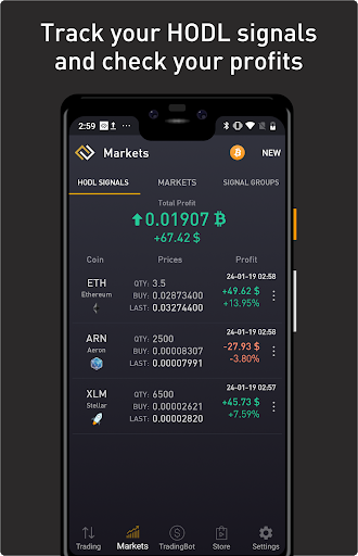 ProfitTrading For Binance - Trade much faster android2mod screenshots 7