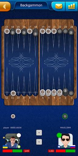 Backgammon LiveGames - live free online game 4.01 screenshots 2