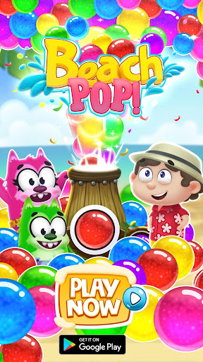 Bubble Shooter - Beach Pop Games 3.0 screenshots 7