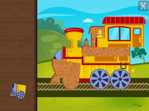 Trains Jigsaw Puzzles for Kids apkmr screenshots 11