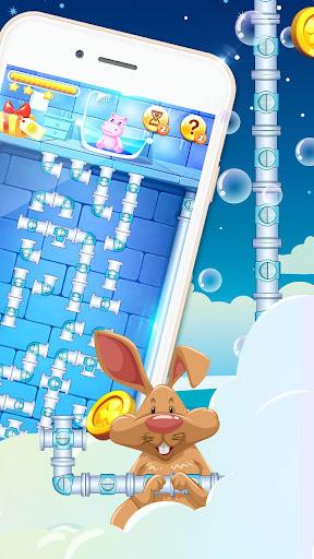Bathe Hippo - Connect Pipes  screenshots 3