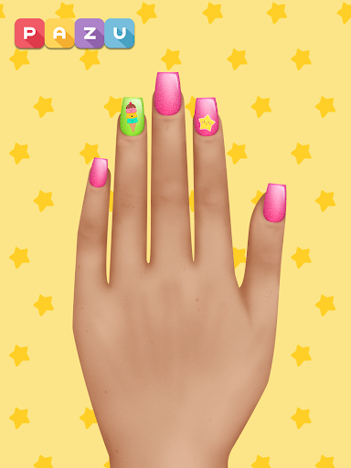 Girls Nail Salon - Manicure games for kids 1.21 Screenshots 8