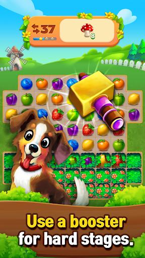 Fruits Farm: Sweet Match 3 games 1.1.0 screenshots 5