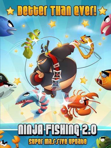 Ninja Fishing apkpoly screenshots 15