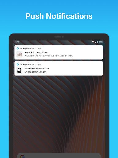 Package Tracker - Fedex, USPS, UPS, Wish, DHL, TNT apktram screenshots 7