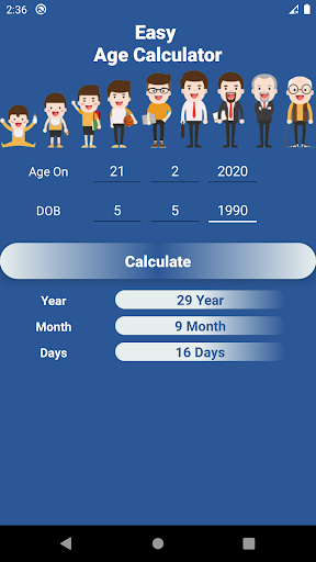 Easy Age Calculator  screenshots 15