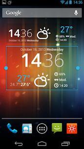 HK Sunny Pro Apk- Weather&Clock Widget (Paid Features Unlocked) 5