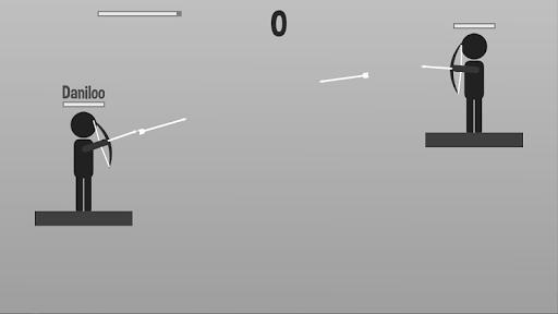 stickman archer: archer vs archer screenshot 1