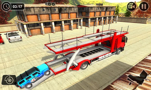 Vehicle Transporter Trailer Truck Game  screenshots 4
